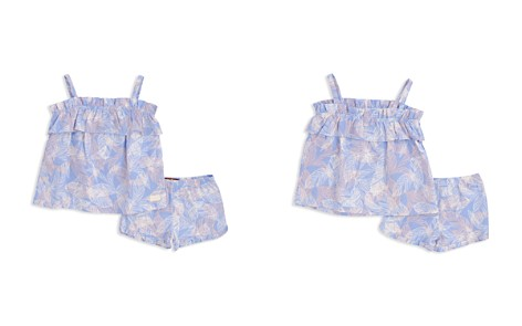 7 For All Mankind Girls' Palm-Print Top & Shorts Set - Baby - Bloomingdale's_2