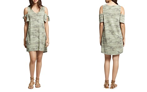 Sanctuary Lakeside Camouflage Cold-Shoulder Tee Dress - Bloomingdale's_2