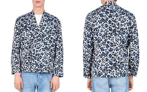 The Kooples Blur Leopard Regular Fit Button-Down Shirt - Bloomingdale's_2