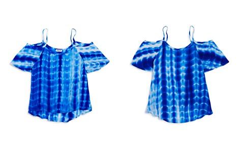 Splendid Girls' Tie-Dyed Cold-Shoulder Top - Big Kid - Bloomingdale's_2
