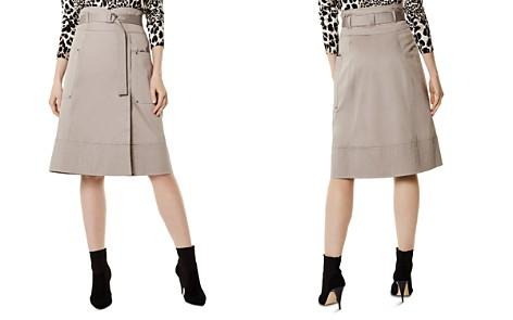 KAREN MILLEN Belted Faux-Wrap Skirt - Bloomingdale's_2