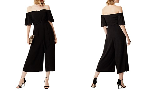 KAREN MILLEN Off-the-Shoulder Wide-Leg Jumpsuit - Bloomingdale's_2