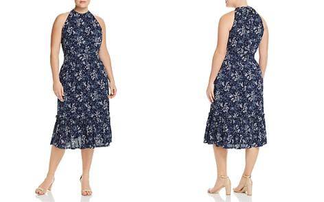 MICHAEL Michael Kors Plus Floral-Print Midi Dress - Bloomingdale's_2
