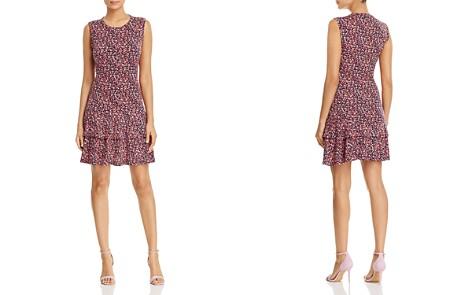 MICHAEL Michael Kors Micro-Floral Tiered Ruffle Dress - Bloomingdale's_2
