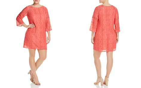 Adrianna Papell Plus Marni Lace Shift Dress - Bloomingdale's_2