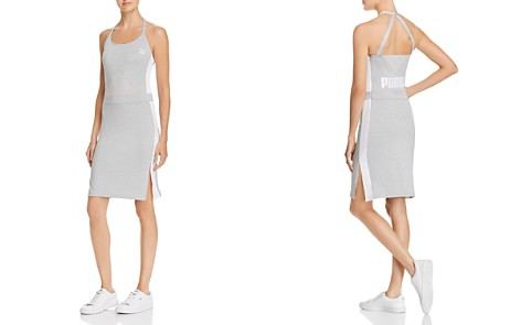 PUMA Archive T7 Mesh-Inset Dress - Bloomingdale's_2