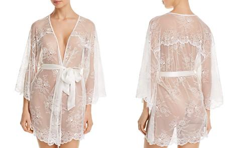 Eberjey Aurora Lace Robe - Bloomingdale's_2