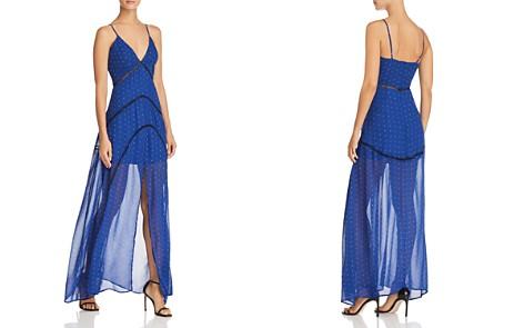 Karina Grimaldi Oreiro Polka Dot Maxi Dress - Bloomingdale's_2