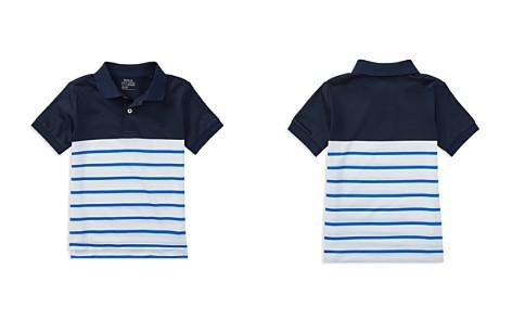 Polo Ralph Lauren Boys' Moisture-Wicking Striped Polo - Little Kid - Bloomingdale's_2