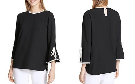 Calvin Klein Bell-Sleeve Top - Bloomingdale's_2