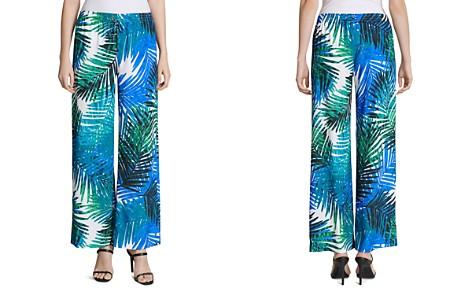 Calvin Klein Printed Wide-Leg Pants - Bloomingdale's_2