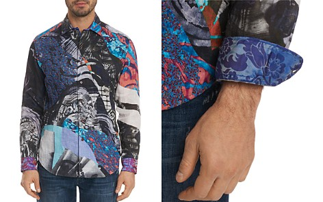 Robert Graham Limited Edition Galaxy Pattern Regular Fit Button-Down Shirt - Bloomingdale's_2
