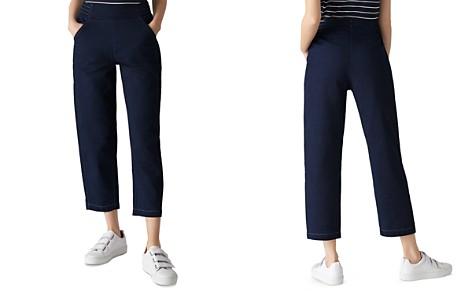Whistles Cropped Denim Pants - Bloomingdale's_2