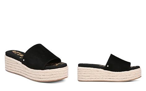 Sam Edelman Women's Weslee Suede Espadrille Slide Sandals - Bloomingdale's_2