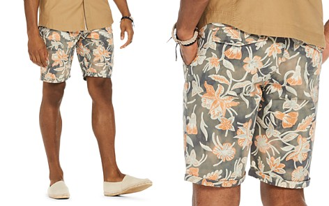 Scotch & Soda Floral Print Regular Fit Shorts - Bloomingdale's_2