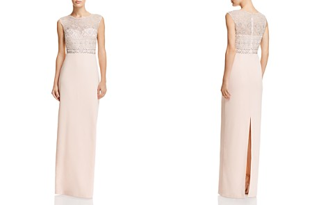 Adrianna Papell Embellished Column Gown - Bloomingdale's_2