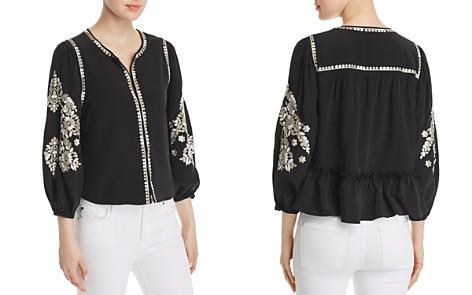 Kobi Halperin Heidi Embroidered Silk Jacket - Bloomingdale's_2