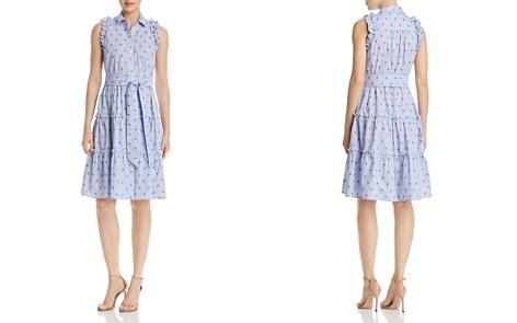kate spade new york Sleeveless Palm-Tree-Print Dress - Bloomingdale's_2