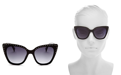 Moschino Women's 005 Cat Eye Sunglasses, 53mm - Bloomingdale's_2