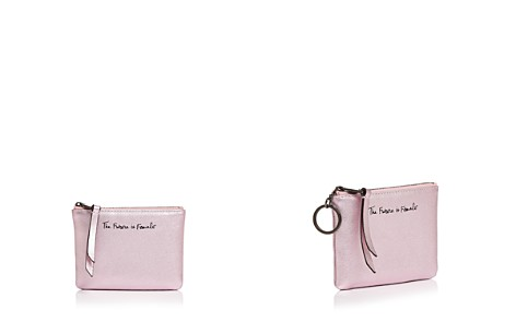 Rebecca Minkoff Betty The Future Is Female Leather Pouch - Bloomingdale's_2
