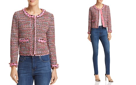 Boutique Moschino Cropped Tweed Jacket - Bloomingdale's_2