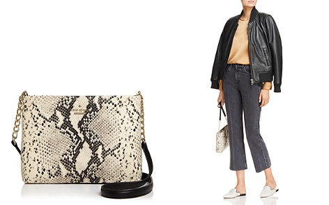 kate spade new york Emerson Caterina Snake-Embossed Leather Crossbody - Bloomingdale's_2