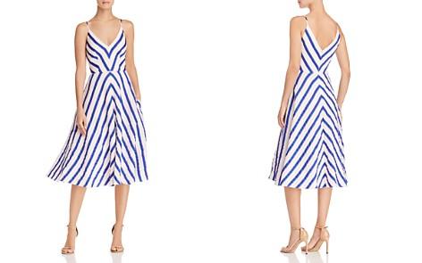 MILLY Monroe Striped Midi Dress - Bloomingdale's_2