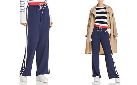 Joie Perlyn Silk Track Pants - Bloomingdale's_2
