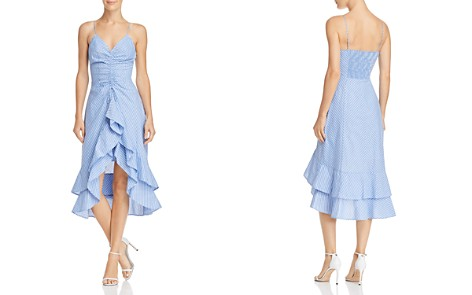 Joie Eberta Striped Ruffle Dress - Bloomingdale's_2