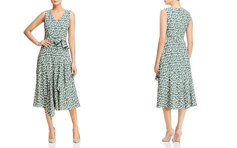 Lafayette 148 New York Telson Sleeveless Leaf-Print Dress - Bloomingdale's_2