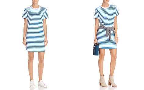 Current/Elliott The Beatnik Striped T-Shirt Dress - Bloomingdale's_2