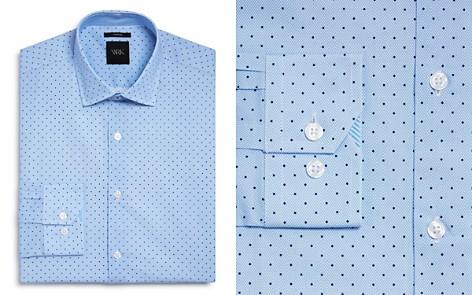 WRK Textured Ground Dot Slim Fit Dress Shirt - Bloomingdale's_2