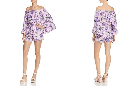WAYF Rovigo Floral Off-the-Shoulder Romper - Bloomingdale's_2