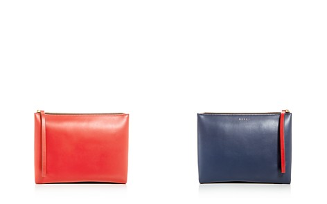 Marni Double-Sided Leather Pouchette Clutch - Bloomingdale's_2