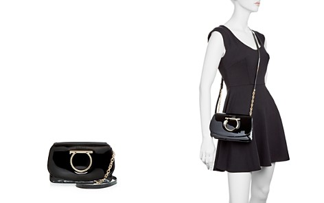 Salvatore Ferragamo Patent Leather Mini Shoulder Bag - Bloomingdale's_2