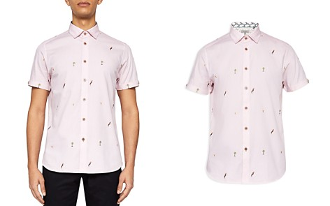 Ted Baker Parcoop Parrot Fil Coupe Regular Fit Button-Down Shirt - Bloomingdale's_2