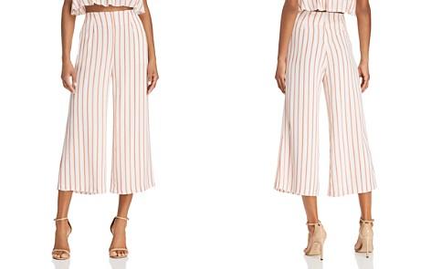 Sage the Label Aurelia Striped Cropped Wide-Leg Pants - Bloomingdale's_2