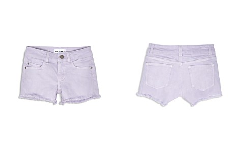 DL1961 Girls' Lucy Frayed-Hem Shorts - Little Kid - Bloomingdale's_2