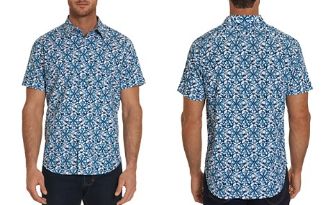Robert Graham Jaws Pattern Regular Fit Button-Down Shirt - 100% Exclusive - Bloomingdale's_2