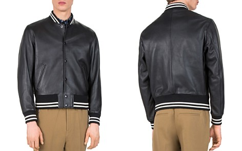 The Kooples Started Teddy Leather Jacket - Bloomingdale's_2