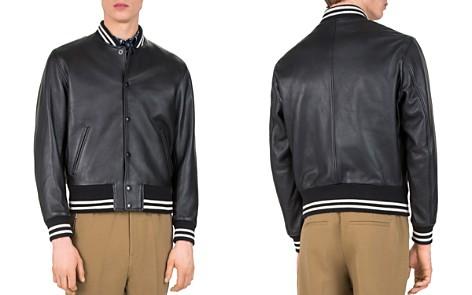 The Kooples Started Teddy Leather Jacket - Bloomingdale's_2