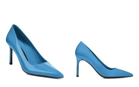 Via Spiga Women's Nikole Patent Leather Stiletto Pumps - Bloomingdale's_2