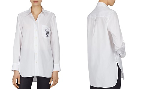 Gerard Darel Carla Embroidered-Pocket Blouse - Bloomingdale's_2