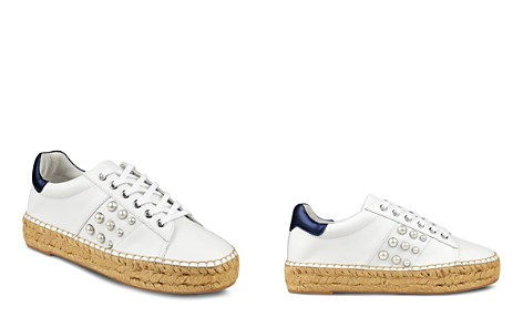 Marc Fisher LTD. Women's Marge Leather Lace-Up Espadrille Sneaker - Bloomingdale's_2