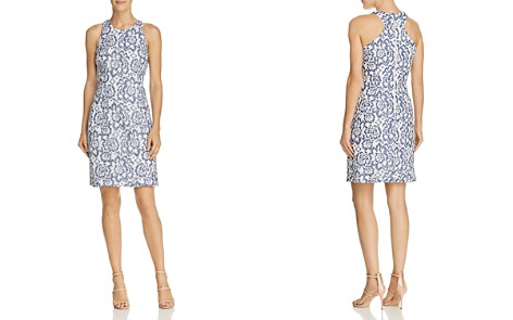 Adrianna Papell Floral Lace Racerback Sheath Dress - Bloomingdale's_2