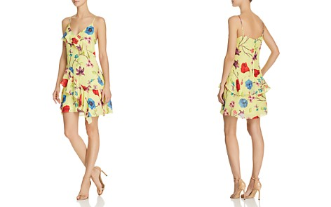Parker Holly Ruffled Floral Dress - Bloomingdale's_2
