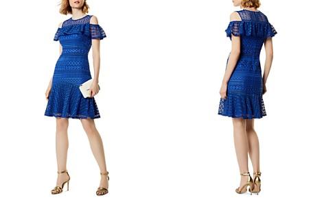 KAREN MILLEN Cold-Shoulder Lace Dress - Bloomingdale's_2