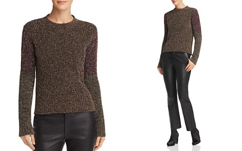 McQ Alexander McQueen Sparkle Knit Sweater - Bloomingdale's_2