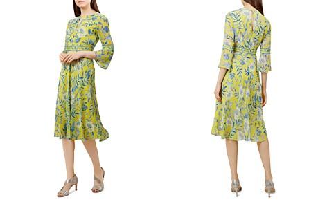 HOBBS LONDON Porcelain Floral Bell Sleeve Dress - Bloomingdale's_2
