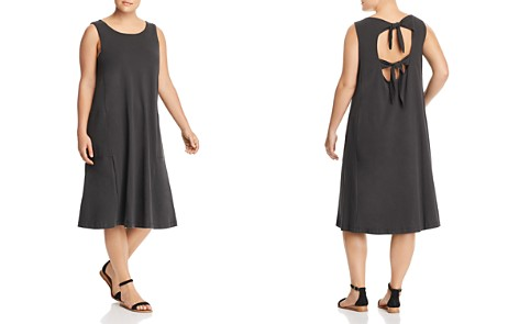 B Collection by Bobeau Curvy Lillian Tie-Back Tank Dress - Bloomingdale's_2